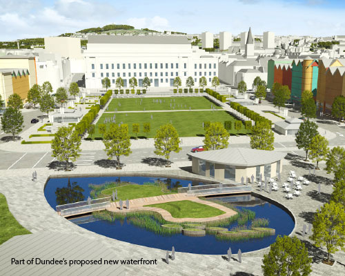 Part of Dundee's proposed new Waterfront