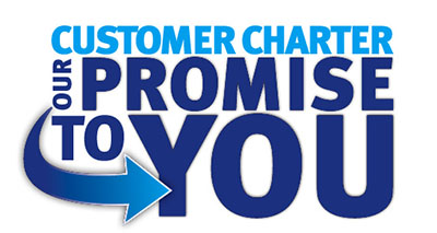 Customer Charter graphic