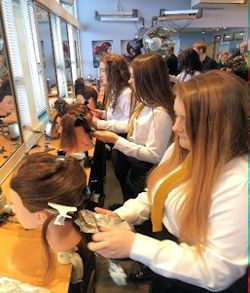 Dundee College Hairdressing Taster