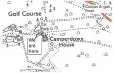Camperdown Park Map