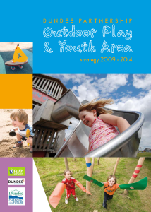Outdoor Play and Youth Area Strategy