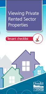 Private Rented Sector Properties leaflet