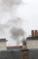 Example of chimney smoke