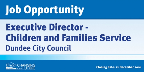 Job Opportunity - Executive Director - Children and Families Service