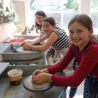 Children and Family Pottery Classes Image