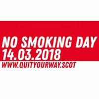 No Smoking Day - 14th March 2018 Image