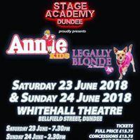 Annie Kids and Legally Blonde Jr Image