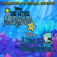 Disneys The Little Mermaid and Alice in Wonderland Image