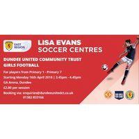 Lisa Evans Soccer Centre Image