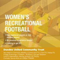 Womens Recreational Football Image