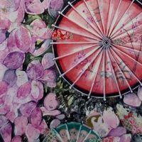 Liz Dulley - Blossom in Japan Exhibition Image