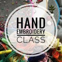 Sew Confident Dundee - Hand Embroidery Class Image