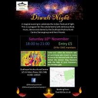 Dudhope Multicultural Centre Diwali Night Image