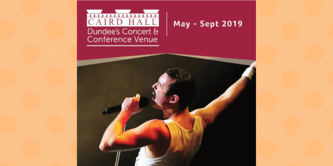 Caird Hall May-Sept 2019 Brochure image