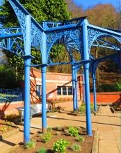 Bandstand in Balgay Park