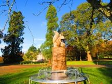 Camperdown Squirrel Sculpture