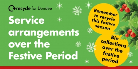 Festive waste and recycling arrangements Image