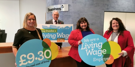 Thorntons becomes a Living Wage Employer Image