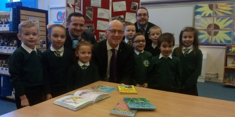 Dundee Primary highlighted as cash announced to tackle attainment gap Image