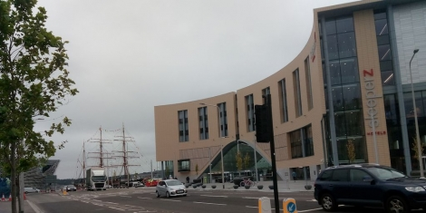 Dundee's New £38m railway station opened Image