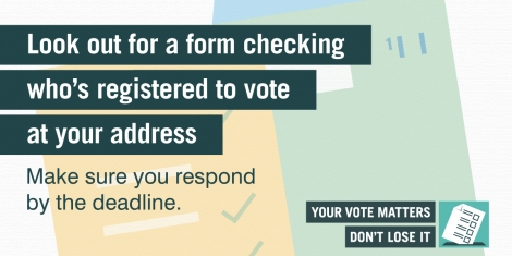 Look out for voter details in the post Image