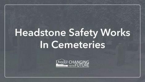 Headstone safety works in cemeteries Image