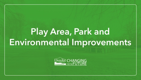 Play area, park and environmental improvements Image