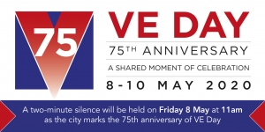 Lord Provost Marks VE Day  Image