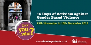 16 Days of Action Against Gender Based Violence Image