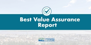 Best value report published Image