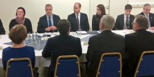 Royal couple visit Michelin action group Image
