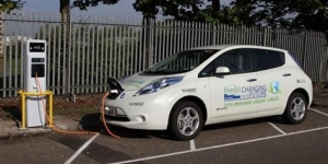 Pop-Up Electric Vehicle Chargers Set for City Image