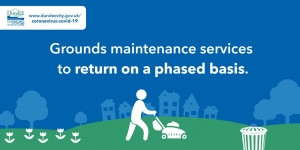 Phased return of grounds maintenance services Image