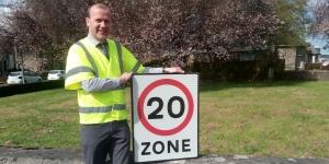 20mph zone Image
