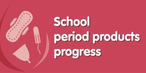 Progress on school period products Image
