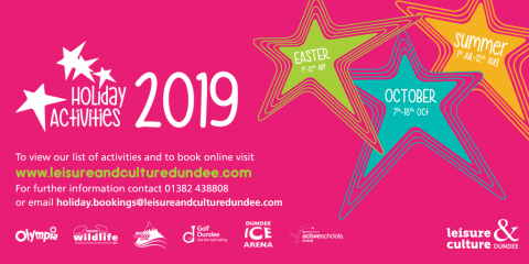 Leisure & Culture Dundee's Holiday Activities 2019 image
