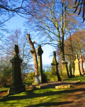 View from Balgay Cemetery