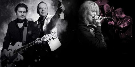 Simple Minds & The Pretenders for Slessor Gardens Image