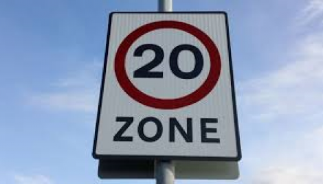 Permanent 20mph zones proposal Image