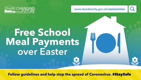 Free school meal payments over Easter Image