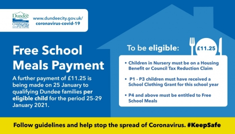 New Free School Meal Payment Image