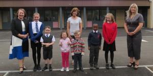 Pupils get down to work at £16 million Coldside Campus Image