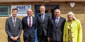 Dundee Council Leader Opens Firm's New Base  Image